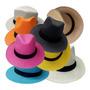 6 Chapéu Modelo Panamá Varias Cores Atacado Customização Original