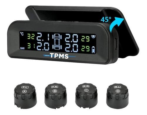 Tpms Sensor De Presión Y Temp. Solar Autos C/sens. Externos