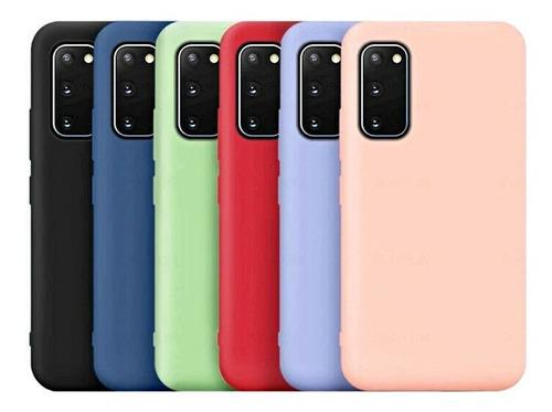 Funda De Silicona Con Felpa Para Samsung S20 Fe
