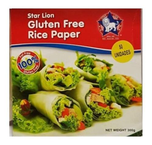 Papel De Arroz Tipo Wrap Star Lion 50 Un. Sin Tacc