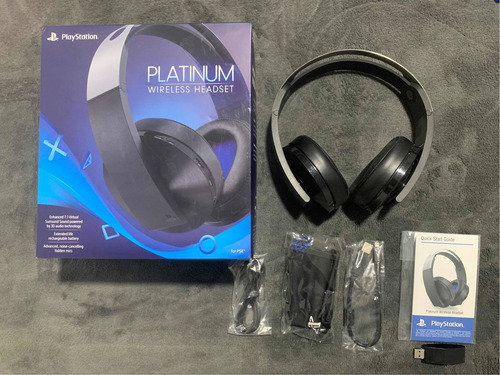 Ps4 Headset Platinum Edition (usados)