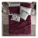 Cobertor Vianney Ligero King/queen Liso/tinto