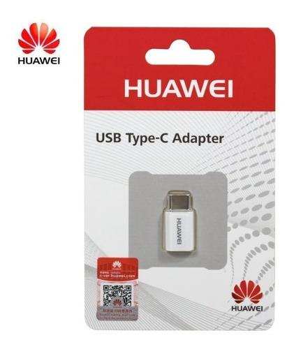 Adaptador Huawei Tipo C Ap52 Microusb A Usb Tipo C
