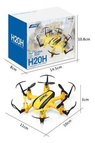 Dron Jjrc H20h Control Altura 3 Baterias+dos Motores Morón