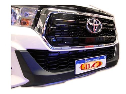 Bumper Plastico Urbana Toyota Hilux 2019-2020