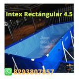 Piscisna Rectángular Intex 4.5 Nuevas En Oferta