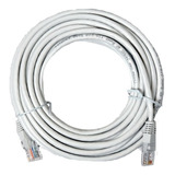 Cable Red 20 Metros Categoría Cat5e Utp Rj45 Ethernet Blanco