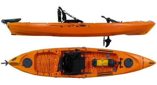 Kayak Hidro2eko Caiman 125 Pro Pdl Naranja - Kayaks Feelfree