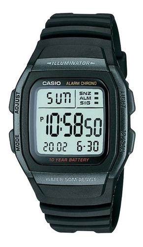 Reloj Hombre Casio W-96h-1b Negro Digital / Lhua Store