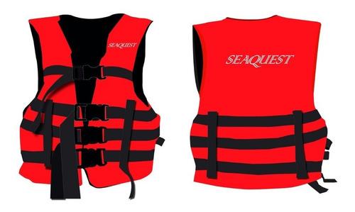 Chaleco Salvavidas Alto Impacto 120 Kg. Ideal Para Kayak
