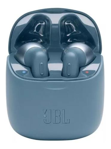 Auriculares Jbl Tune 220 Tws Color Azul