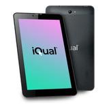 Tablet  Con Funda Iqual T7l 7  16gb Con Memoria Ram 1gb Y Conexión A Celular