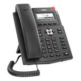 Telefone Ip Fanvil 2 Linhas Sip Poe C/fonte Áudio Hd X1sp
