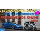 Presupuesto Online 24 Hs Autos/motos Siniestros, Seguros