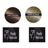 Fibras Capilares 28 Gr Light Brown Y Dark Blonde Importadas