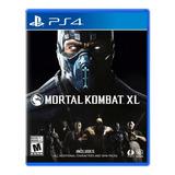 Mortal Kombat X L Formato Físico Ps4 Original