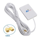 Antena 4g Doble 28dbi Huawei B593 / B310 Conector Sma