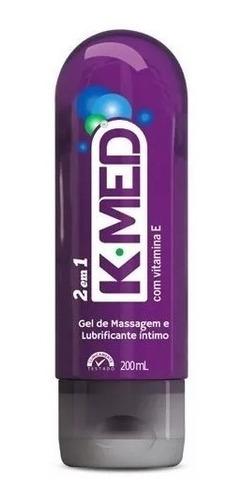 K-med 2 Em 1 Gel De Massagem E Lubrificante Íntimo 200ml