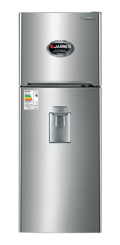 Heladera James C/ Dispensador Frio Seco Clase A  Jn300 Inox