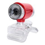 480p Usb Webcam Pc Cámara Con Micrófono Para Transmisión En