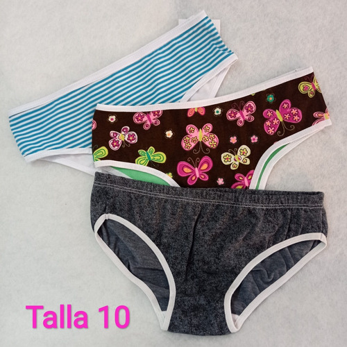 Panties Niña Honey Lingerie Paquete *3