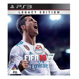 Fifa 18 Legacy Edition Electronic Arts Ps3 Digital
