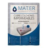 Funda  Cubre Colchon Protector Impermeable Reforzada Premium