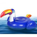 Flotador Gigante Tucan Inflable Salvavidas Piscina Adulto