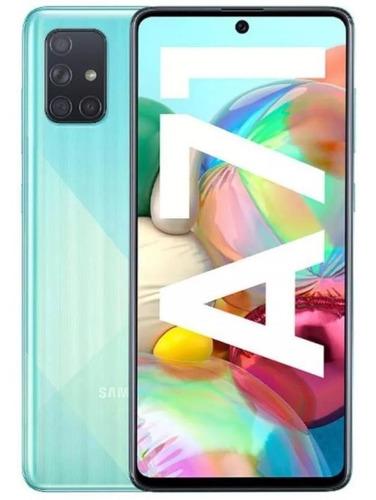 Samsung Galaxy A71 128gb 6gb Ram Azul Dual Sim Sellado Tiend