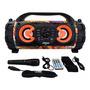 Caixa De Som Amplificada Bluetooth 100w Rms Microfone Fm Sd Original