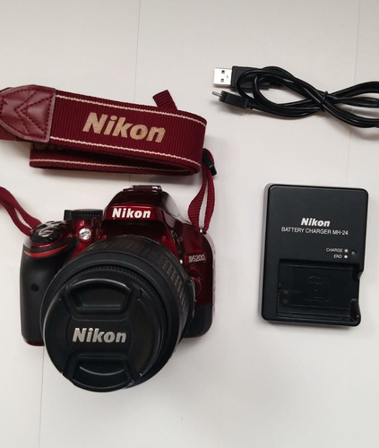 Camara Nikon D5200 6 Meses Garantia 8.428 Disparos Ph Ventas