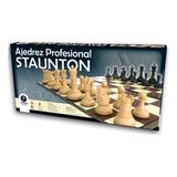 Ajedrez Profesional Staunton Original Plastigal Lelab