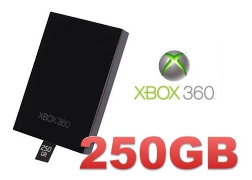 Disco Duro 250 Gb Xbox 360 Rgh 5.0  +envio+listo Para Jugar