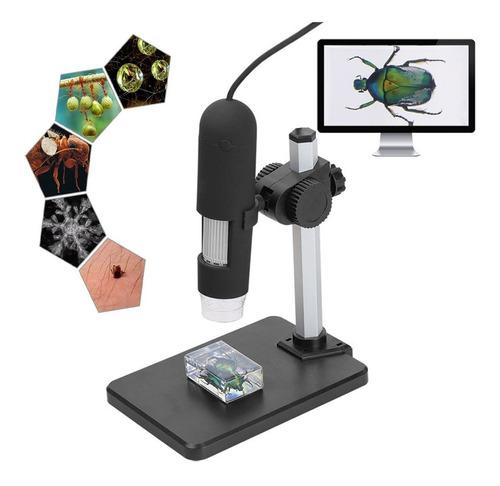 Microscopio Optico Digital 1000x Electronico Usb Zoom Led