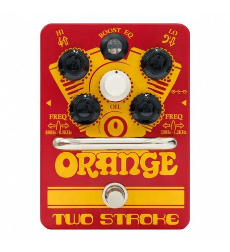 Pedal Guitarra Eléctrica Orange Two Stroke Boost Y Eq