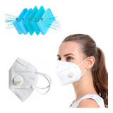 Mascara Kn95 Cirurgica Descartável Com Válvula Pff2 N95