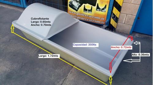 Cubre Flotante Para Bebederos En Fibra De Vidrio
