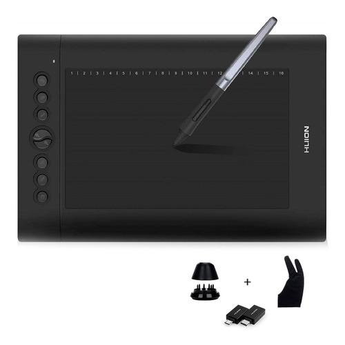 Tableta Gráfica Huion H610 Pro V2 Area 10 Pulgada Disponible