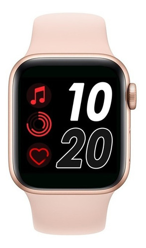 T500 Reloj Inteligente Smartwatch Pasos Salud Cardiaca Ip67