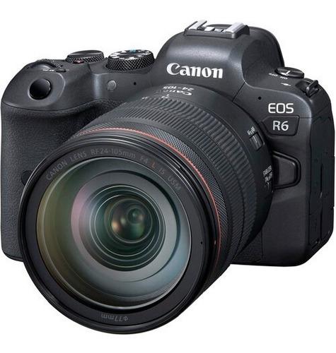 Canon Eos R6 Kit Con Lente Rf 24-105mm F/4 L Is Usm