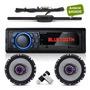 Aparelho Som Radio Mp3 Bluetooth Falante 6 Pioneer + Antena Original