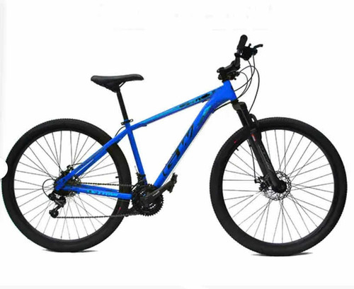 Bicicleta Gw Titán/atlas R29 Acero Tourney 7v M2020 Rebote
