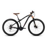 Mountain Bike Mercurio Mtb Recreación Ranger Pro  2020 R29 21v Frenos De Disco Mecánico Color Negro/naranja