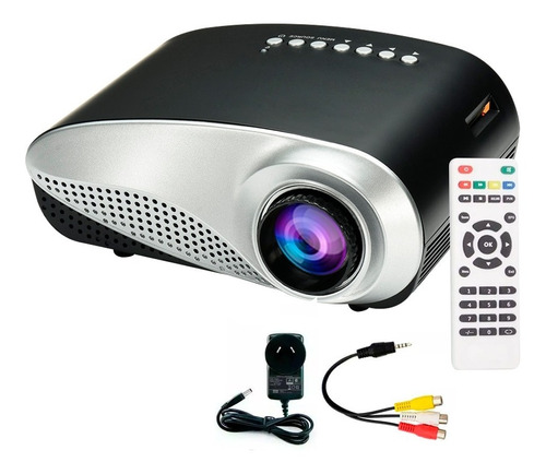 Mini Proyector Hd 1080 Portable Led 60 Lumens Hdmi Notebook