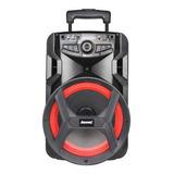Caixa De Som Amvox Aca 250 Groove Portátil Com Bluetooth Preta 110v/220v