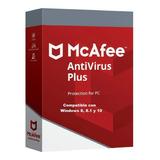 Mcafee Antivirus Plus Licencia  5 Años 1pc Entrega Rápida