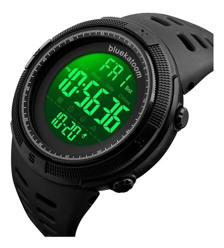 Reloj Hombre Bluekatoom Max3 Digital Resistente Agua 50 Mts