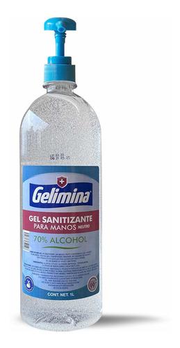 Gel Antibacterial Para Manos 1 Litro Gelimina