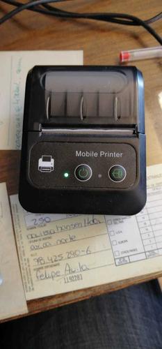 Impresora Térmica 58mm Bluetooth/ Fiscal Sii E-boleta
