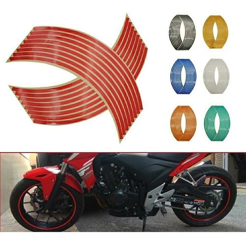 Cintas Reflectivas De Aros Para Motos, Autos Y Bicicletas